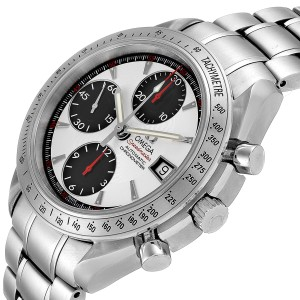 Omega Speedmaster Date Panda Dial Chronograph Mens Watch 3211.31.00