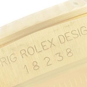 Rolex President Day-Date 36mm Yellow Gold Diamond Mens Watch