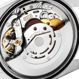 Rolex Datejust Blue Dial Jubilee Bracelet Steel Mens Watch 16220