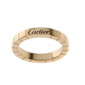 Cartier Lanieres Ring 18K Rose Gold Size 5.75