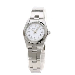 Rolex Oyster Perpetual 76080 24mm Womens Watch