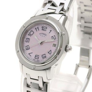 Hermes Clipper Nacre CP1.210 24mm Womens Watch