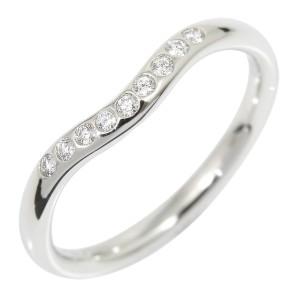 Tiffany & Co. PT950 Platinum Diamond Wedding Ring Size 5