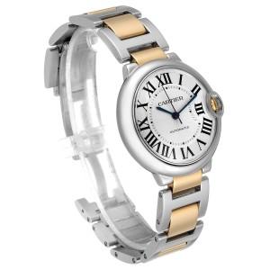 Cartier Ballon Bleu Midzize 36 Steel Yellow Gold Ladies Watch