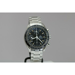 Omega Speedmaster Automatic Triple Date Chronograph 38mm Watch 3750084 352050