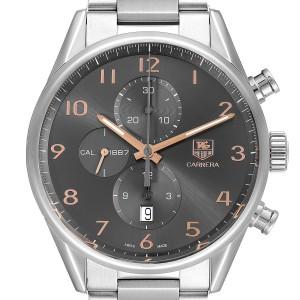 Tag Heuer Carrera 1887 Grey Dial Chronograph Mens Watch
