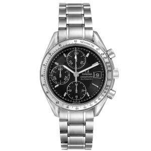 Omega Speedmaster Date 39mm Automatic Steel Mens Watch 3513.50.00 Tag