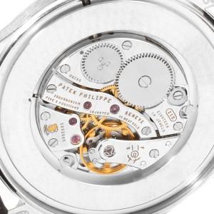 Patek Philippe Calatrava 18k White Gold Mechanical Mens Watch 5196G