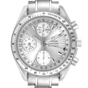 Omega Speedmaster Day Date Chronograph Steel Mens Watch 3523.30.00