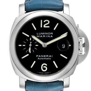 Panerai Luminor Marina Automatic 44mm Steel Mens Watch PAM00104