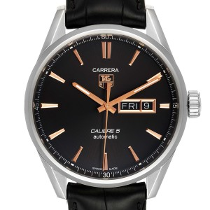 Tag Heuer Carrera Calibre 5 Day Date Steel Mens Watch