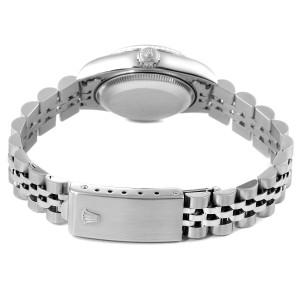 Rolex Datejust 26 Steel White Gold Anniversary Dial Ladies Watch 69174