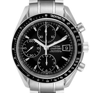 Omega Speedmaster Chronograph Black Dial Mens Watch