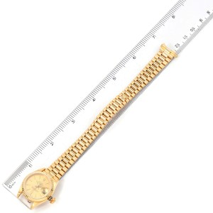 Rolex President Datejust 18K Yellow Gold Ladies Watch 69178
