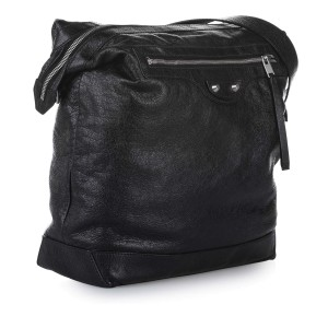 Motocross Classic Day Leather Shoulder Bag