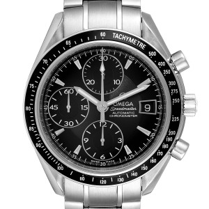 Omega Speedmaster Chronograph Black Dial Mens Watch 3210.50.00