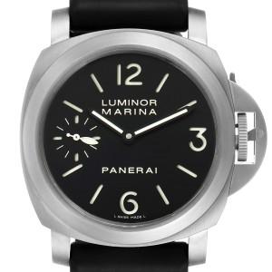 Panerai Luminor Marina 44mm Titanium Black Dial Mens Watch PAM00177