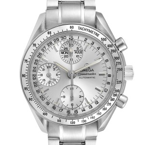 Omega Speedmaster Day Date Chronograph Steel Mens Watch 3523.30.00 Card