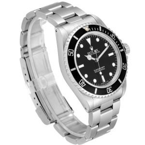 Rolex Submariner 40mm Non-Date 2 Liner Steel Steel Mens Watch 14060