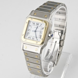 Cartier Medium Santos 296101823 33mm Mens Watch