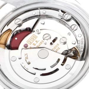 Rolex Datejust 26 Steel White Gold Salmon Dial Ladies Watch