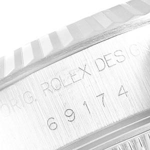 Rolex Datejust 26 Steel White Gold Roman Dial Ladies Watch