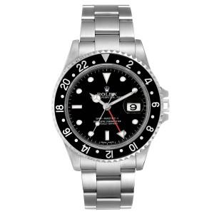 Rolex GMT Master II Error Dial Steel Mens 40mm Watch