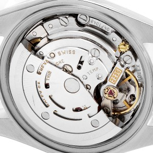 Rolex Datejust Steel White Gold Diamond Ladies Watch