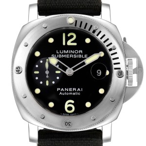 Panerai Luminor Submersible 44mm Steel Mens Watch PAM00024