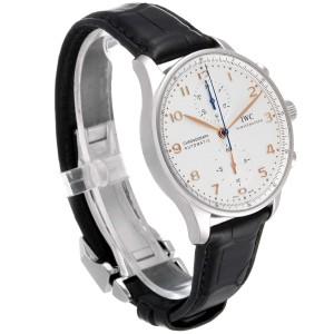IWC Portuguese Chrono Automatic Steel Mens Watch