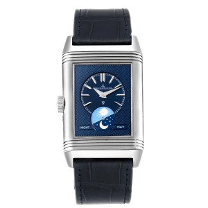 Jaeger LeCoultre Reverso Tribute Moon Watch 216.8.D3 Q3958420 Papers