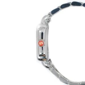 Michele Deco MV06C01 Stainless 0.50Ct Diamond Pave Bezel Watch