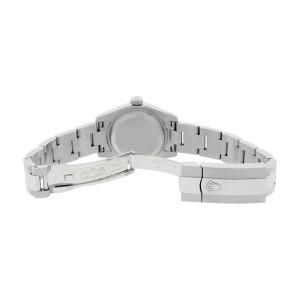 Rolex Datejust Oyster 179174 Stainless Steel  18K Gold Bezel Salmon Roman Dial Womens Watch