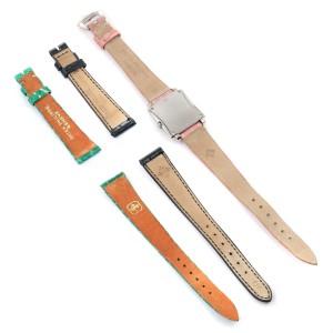 Patek Philippe Gondolo Ladies 18K White Gold Quartz Watch 4824