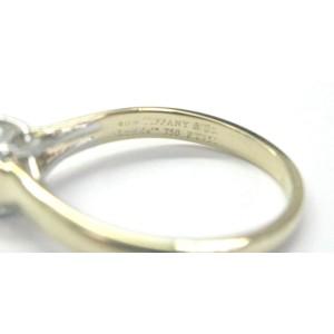 Tiffany & Co. 18K Yellow Gold Lucida Diamond Engagement Ring