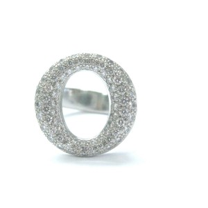 Tiffany & Co. Platinum Sevillana Diamond Ring