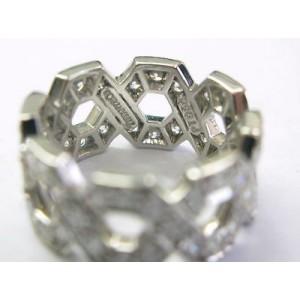 Tiffany & Co. Platinum Hexagon Diamond Ring