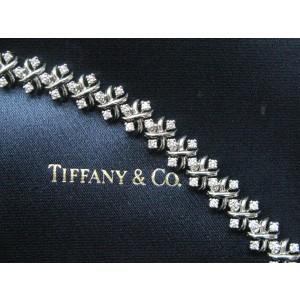 Tiffany & Co. Jean Schlumberger Lynn Diamond Platinum Bracelet