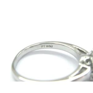 Tiffany & Co. Platinum Diamond Flower Ring