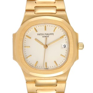 Patek Philippe Nautilus 32mm 18K Yellow Gold Ladies Watch 3900