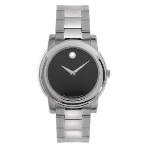Movado 0605746 Junior Sport Black Museum Dial Swiss Quartz Watch