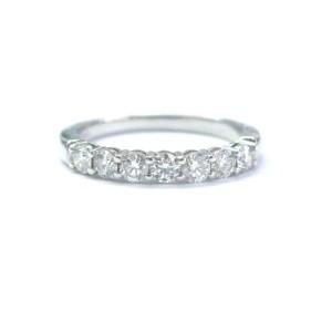 Tiffany & Co. Platinum Diamond Band Ring