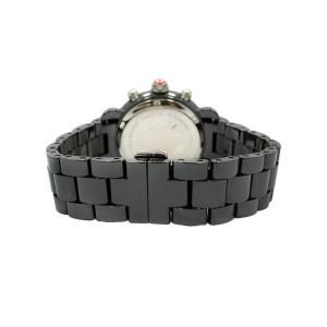 Michele CSX MWW03N000003 Black Ceramic Steel Ladies Watch