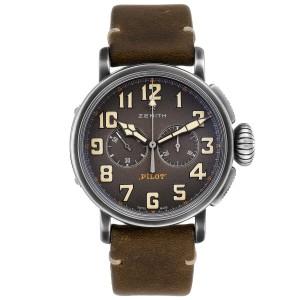 Zenith Heritage Pilot Type 20 Chronograph Mens Watch 11.2430.4069