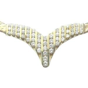 Yellow Gold Diamond Necklace