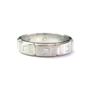 Jeff Cooper Platinum Diamond Band Ring