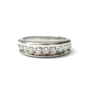 Scott Kay Platinum Channel Set Diamond Band Ring