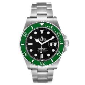 Rolex Submariner Green Kermit 41 Steel Mens Watch