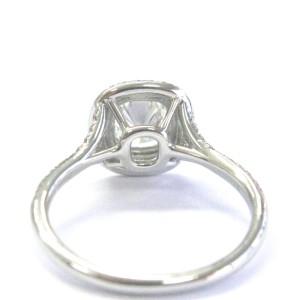 Tiffany & Co. 950 Platinum with Diamond Soleste Engagement Ring Size 4.5