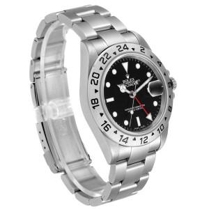 Rolex Explorer II Black Dial Automatic Steel Mens Watch 16570